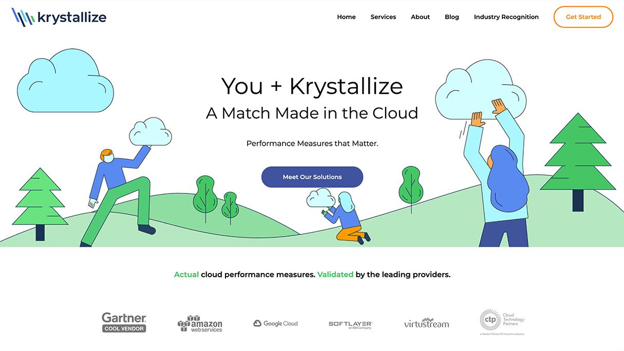Krystallize Website Design