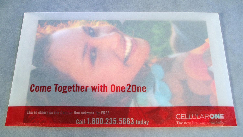 Cellular One Direct Mail Envelope Design