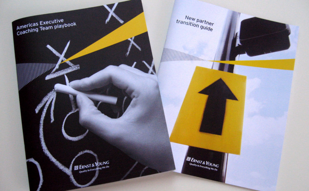 Ernst & Young Brochure Cover Designs