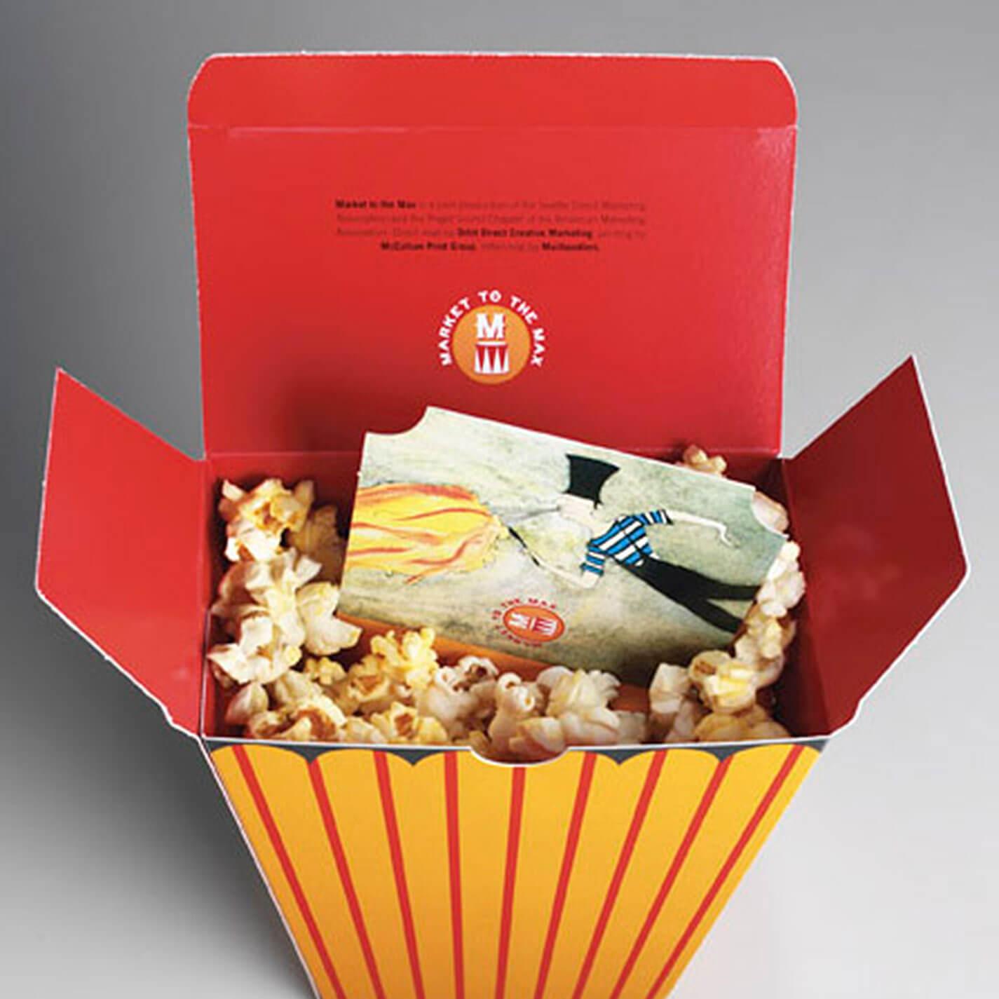 DMA Direct Mail Open Box Design